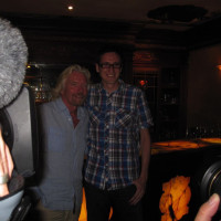 Eric James and Richard Branson